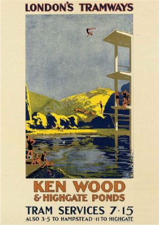 Ken Wood & Highgate Ponds LONDON
